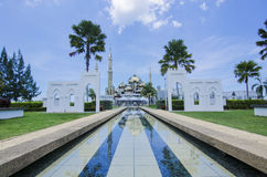 Crystal Mosque or Masjid Kristal in Kuala Terengganu, Terengganu Royalty Free Stock Photography