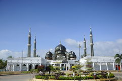 Crystal Mosque in Terengganu, Malaysia Royalty Free Stock Photo