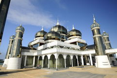 Crystal Mosque in Terengganu, Malaysia Royalty Free Stock Photography
