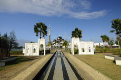 Crystal Mosque in Terengganu, Malaysia Royalty Free Stock Image