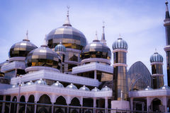 Crystal mosque Stock Images