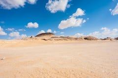 Crystal Mountain en Egypte Photographie stock
