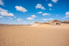 Crystal Mountain en Egypte Image libre de droits