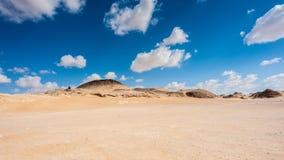 Crystal Mountain i Egypten Arkivbilder