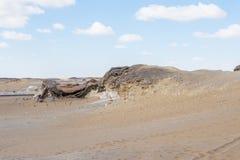 Crystal Mountain i Egypten Arkivbild