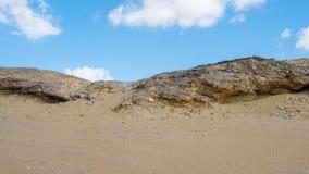 Crystal Mountain i Egypten Arkivfoto