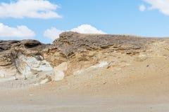 Crystal Mountain i Egypten Royaltyfria Foton