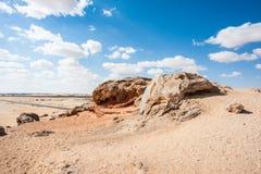 Crystal Mountain i Egypten Royaltyfri Fotografi