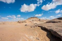 Crystal Mountain i Egypten Arkivfoton