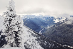 Crystal Mountain Royalty Free Stock Images