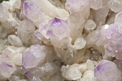 Crystal ore Stock Photos