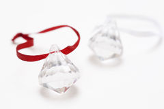 Crystal  ornaments Royalty Free Stock Images