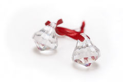 Crystal  ornaments Stock Photography