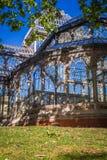 Crystal Palace (cristal Palacio de) i Retiro parkerar, Madrid, Spanien Royaltyfria Foton