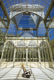 Crystal Palace at El Retiro Park in Madrid, Spain Stock Image
