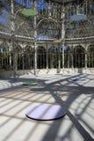 Crystal Palace en parc de Retiro, Madrid Image libre de droits