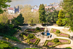 Crystal Palace gardens in Porto Royalty Free Stock Photography
