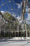 Crystal Palace i Retiro, Madrid Royaltyfria Foton