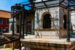 Crystal Palace inacabado no palácio de Yanxi da Cidade Proibida, no Pequim, China fotografia de stock royalty free