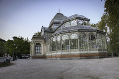 Crystal palace madrid Royalty Free Stock Image