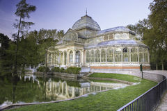 Crystal palace madrid Royalty Free Stock Photos