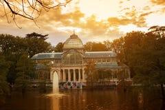 Crystal Palace, Madrid fotografía de archivo