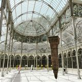 Crystal Palace in Madrid Royalty Free Stock Photography