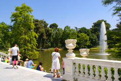 Crystal Palace in Madrid Royalty Free Stock Photo