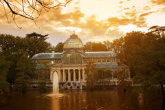 Crystal Palace, Madrid Stock Photography
