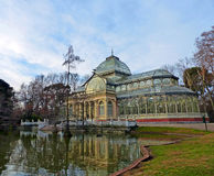 The Crystal Palace of Madrid, Spain Royalty Free Stock Image