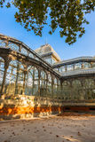 Crystal Palace at Madrid Spain Royalty Free Stock Photography