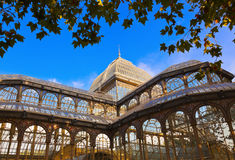 Crystal Palace at Madrid Spain. Crystal Palace at Retiro park - Madrid Spain Stock Photo