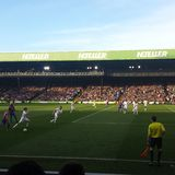 Crystal Palace and Manchester United Stock Photography