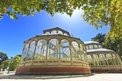 The Crystal Palace (Palacio de Cristal) Royalty Free Stock Image