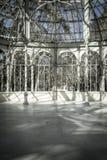 Crystal Palace (Palacio de Cristal) in Parque del Retiro in Madr Stock Images