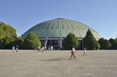 The Crystal palace in Porto Royalty Free Stock Photography