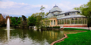 Crystal Palace, Retiro, Madrid Stock Photo