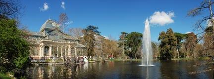 Crystal Palace. In Retiro park, Madrid Stock Photo