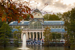 Crystal Palace in Retiro Park, Madrid Stock Photography