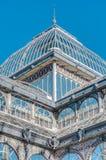 Crystal Palace sul parco di Retiro a Madrid, Spagna Fotografie Stock Libere da Diritti