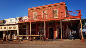 The Crystal Palace in Tombstone, Arizona Royalty Free Stock Photos