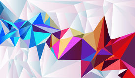 Crystal paper. Vector abstract background Royalty Free Stock Images
