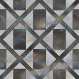 Crystal pattern Stock Image