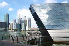 """Crystal Pavilion"" Louis Vuitton, Singapore. Stock Photography"