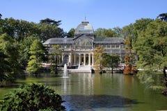 Crystal Pavilion in the Retiro Park, Madrid Royalty Free Stock Image