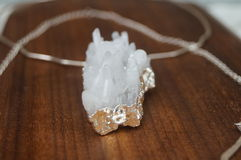 Crystal pendant Royalty Free Stock Images