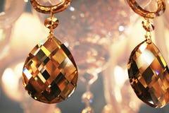 Crystal pendants Stock Photo