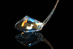 Crystal pendent Royalty Free Stock Image