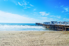 Crystal pier in Pacific Beach Stock Image