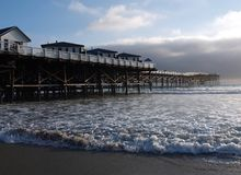 Crystal pier in San Diego Royalty Free Stock Image